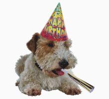 Wire Fox Terrier Birthday Kids Tee