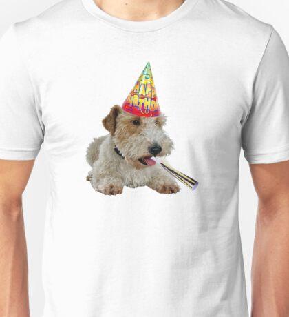 Wire Fox Terrier Birthday Unisex T-Shirt