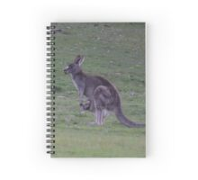 Everything's upside down Mum! Spiral Notebook