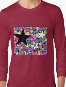 People and Stars Long Sleeve T-Shirt