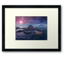 Abandoned Space Station - Stella 5 Framed Print