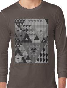 Triangulon - Grey Long Sleeve T-Shirt