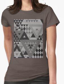 Triangulon - Grey Womens Fitted T-Shirt