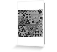 Triangulon - Grey Greeting Card