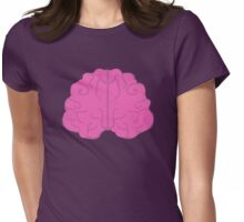 Pink Brain Womens Fitted T-Shirt