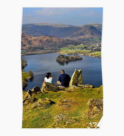 Time to enjoy the views of Grasmere :) Poster