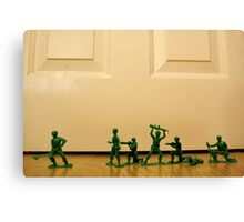 Toy Story Recreation - Soldiers in Toy Mode Canvas Print