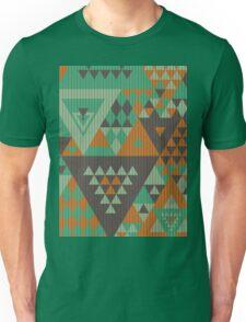 Triangulon - Mint Choc Orange Unisex T-Shirt