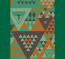 Triangulon - Mint Choc Orange Unisex T-Shirt