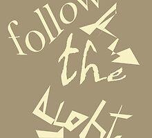 Follow the light by Thecla Correya