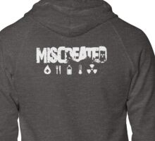 Miscreated Zipped Hoodie White Text (Official) Zipped Hoodie