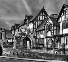 The Lord Leycester Hospital, Warwick, England by Ann Garrett