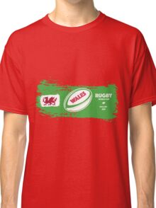Wales Rugby World Cup Supporters Classic T-Shirt