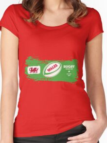 Wales Rugby World Cup Supporters Women's Fitted Scoop T-Shirt