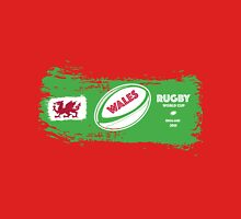 Wales Rugby World Cup Supporters Unisex T-Shirt