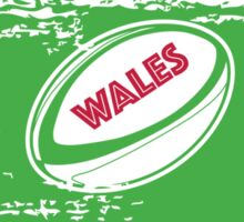 Wales Rugby World Cup Supporters Sticker