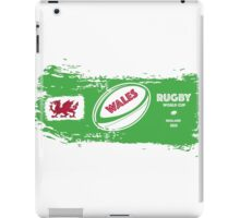 Wales Rugby World Cup Supporters iPad Case/Skin