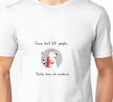 Psychotic bears Unisex T-Shirt