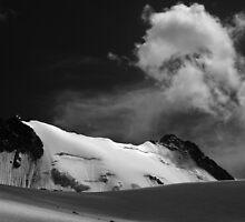 Adygine glacier, Kyrgyzstan by Michal Cerny
