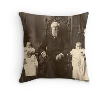 The Gold-Headed Cane Throw Pillow