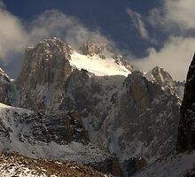 Korona peak, Kyrgyzstan by Michal Cerny