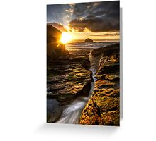 Trebarwith HDR Greeting Card