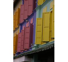 Open Shutters Photographic Print