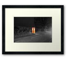 Remote Communication Framed Print