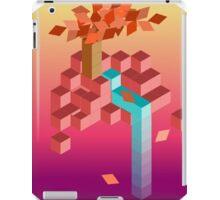 An isometric sunset iPad Case/Skin