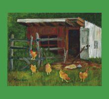Chicken Coop at Gallant Farm Kids Tee