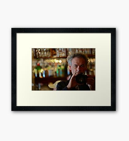 My school stage name was Simon Templar (The Saint) . Tribute to Sir Roger Moore  by Brown Sugar. Favorites: Favorites: 10 Views: 2319 .!!! thank you very much !!! dziękuję ! Featured ***  Framed Print