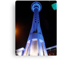New Zealand Sky Tower Canvas Print