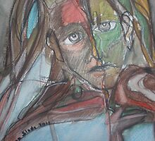 A Great Unease Detail by Anthea  Slade