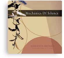 Mechanics Of Silence - Compilation Canvas Print