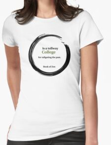 College Education Quote Womens Fitted T-Shirt