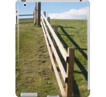 Hilltop and Fence iPad Case/Skin