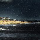 Sea Squall Southwold by Simon Duckworth