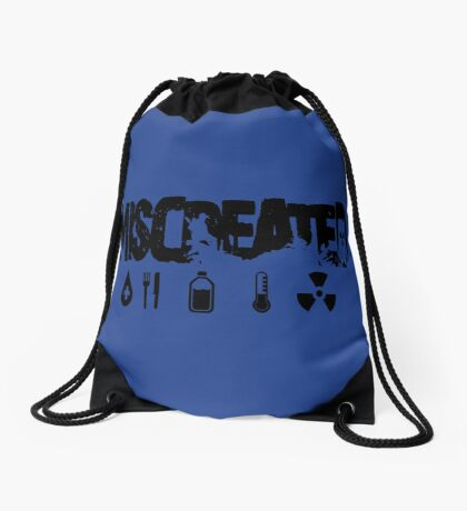 Miscreated Design 2  Blue (Official) Drawstring Bag