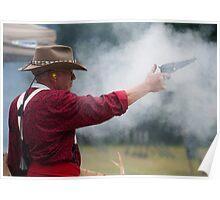 Cowboy Shoot Poster