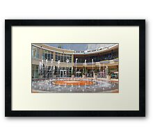 Fountain , Dividers Framed Print
