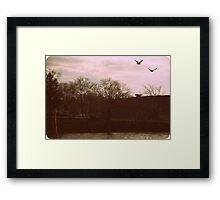 Lawrence Park 1960's Framed Print