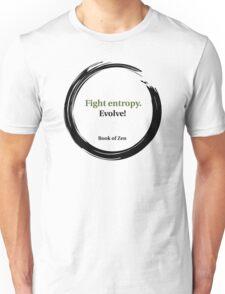 Evolution Life Quote Unisex T-Shirt