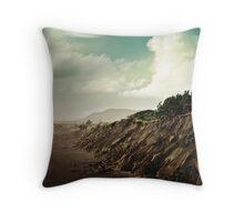 Muriwai Beach Landscape - New Zealand Throw Pillow