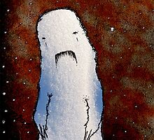 Kanashii the Snow Monster by benj dawe