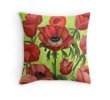 Bleed Throw Pillow