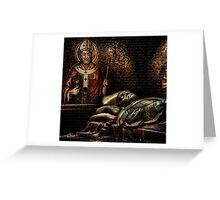 Papal Puzzle Greeting Card