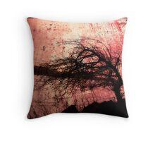 Tree Silhouette #3 Throw Pillow