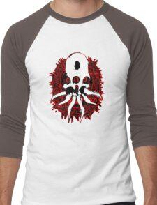 Alien Skull Men's Baseball ¾ T-Shirt