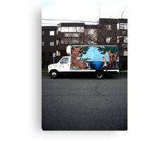 victoria truck Canvas Print