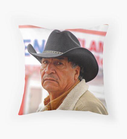 Hispanic Man Throw Pillow